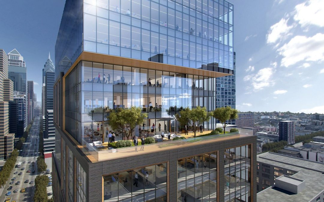 Sneak Peek of proposed new office tower for Morgan Lewis